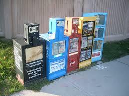 Newspaper Vending Machine Near Me Mesmerizing FileNewspaper Vending Machines In Canada 48jpg Wikimedia