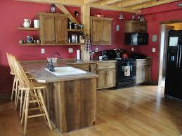 Hickory Kitchen Rustic Hickory Kitchen Overholser Cabinetsoverholser Cabinets