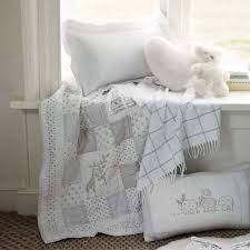 noah s ark cot bed quilt the white company