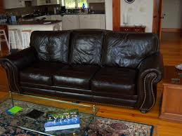 Richard's Santa Fe Leather Sofa by Leather Trend  P534