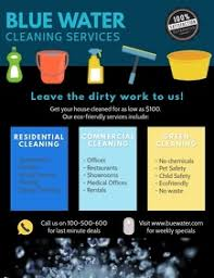 Commercial Cleaning Flyers 450 Cleaning Service Customizable Design Templates