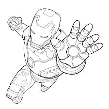 Disegni Di Iron Man Da Colorare Entro Immagini Supereroi Da Avec