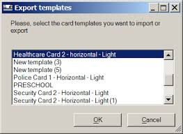 Security Card Template How To Export You Card Design In Alphacard Id Suite From Alphacard