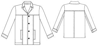 sewing leather jackets jacket pattern clothing