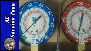 R22 And R410a Refrigerant Why The Vapor Gauge Pressure Is Too Low In Air Conditioning