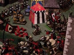beastlord gorthor broadhead shouted his battle commandany hooves stormed towards the first buildings of the village the bretonnian solrs