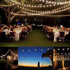 fireplace outdoor party lights garden string bistro edison bulb