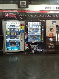 Vending Machines That Take Credit Cards Impressive Vending Machines On The Platform Take Credit Cards Or Cash Hot