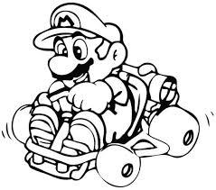 Mario Kart 8 Coloring Pages Free Download Best Mario Kart 8
