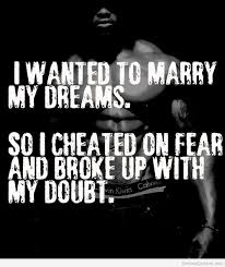 Marry your dreams quote / Genius Quotes on imgfave