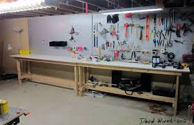 workbench lighting ideas. Modern Design Ideas Basement Workbench Plans Full Size Lighting