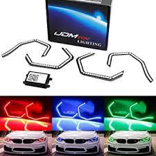 iJDMTOY 4pc Concept <b>M4</b> Iconic <b>Style</b> RGB Multi-Color <b>LED</b> Angel ...