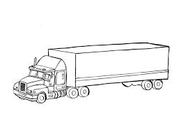 Beautiful Kleurplaat Vrachtwagen Afb 9674 Ofertasvuelo