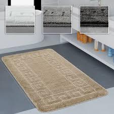 Badezimmer Teppich Bordüre Versch Teppichcenter24