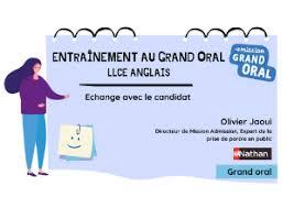 Questions pour la spé llce. Mission Grand Oral Toutes Les Specialites Editions Nathan