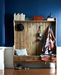 Entryway Bench With Storage And Coat Rack Stunning Wood Hall Tree With Storage Bench Entryway Coat Rack And Storage
