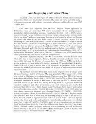 Sample Autobiography Essay Example Biography Essay Of A Pevita How ...