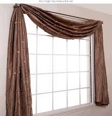 diy window scarf holder ideas