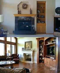 how to cover a fireplace fireplace makeovers on a budget how to cover a brick fireplace with wood fireplace remodel before cover fireplace ideas cover brick