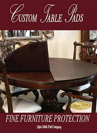 pads for dining room table. Custom Table Pads For Dining Room Tables Protective Ohio Pad Grand Home Designs L