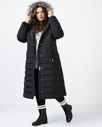 long puffer down winter coat