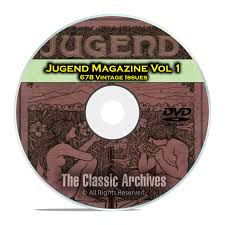 Victorian Kitchen Garden Dvd Jugend Vintage German Art Nouveau Magazine Jugendstil 678 Issues
