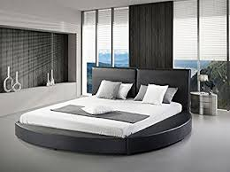 modern round beds.  Modern Greatime B1159 Modern Round Bed Queen Black Black Inside Beds Amazoncom