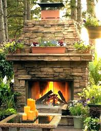 large clay chiminea outdoor fireplace electric fireplaces at menards