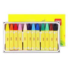 Buy <b>Deli 72079 Oil Pastel</b> Crayon 12PCS - In Stock Ships Today!
