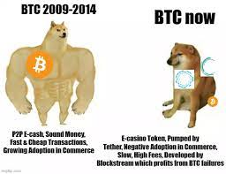 In reality, bitcoin is probably the only cryptocurrency that you can do chart analysis for. Then Vs Now Btc