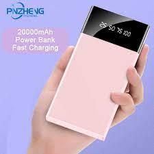 PINZHENG Power Bank 10000 MAh Di Động Sạc Dự Phòng PowerBank 10000 MAh  PoverBank Sạc Pin Ngoài Dành Cho Xiaomi Mi9 8 iPhone|Sạc dự phòng