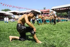 660. Tarihi Kırkpınar Yağlı Güreşleri'nde ilk gün sona erdi - Spor  Haberleri - Güreş