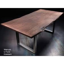 Tischplatte Calabria Akazie Massiv 35cm Stark 180 200x100cm In 3