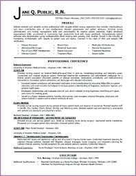 Profile On Resume Extraordinary Personal Profile Resume Sample How To Write A Professional Genius