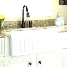 33 inch white single bowl farmhouse sink a with drainboard antique farm vintage cast iron acrylic