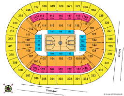 Scottrade Center Seating Chart Seating Chart For The Scottrade Center Ncaa Division I