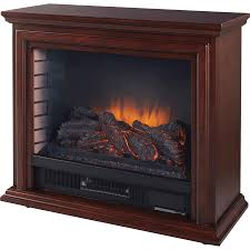 pleasant hearth sheridan electric mobile fireplace