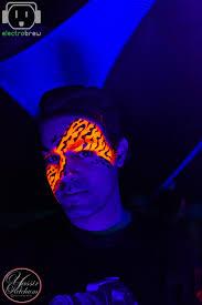 Cool Black Light Designs Adult Uv Blacklight Body Paint Jungle Www Glittermenyc Com 3