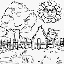 Small Picture Scenery Coloring Pages FunyColoring