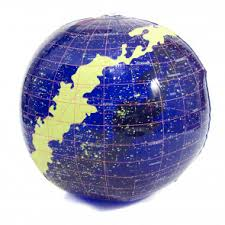 <b>Inflatable Globes</b>   Inflate <b>World</b> Globes and Star Constellations