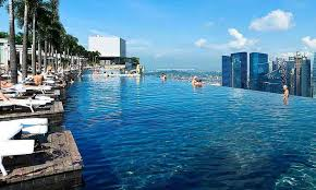 infinity pool singapore hotel. Marina Bay Sands Infinity Pool Singapore Hotel K