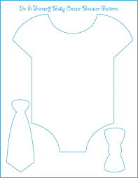 Eight Examples Of Baby Shower Themes With Free Onesie Banner Template