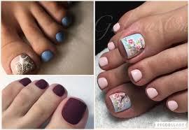 Cute Simple Toe Designs 40 Cute Toe Nail Designs