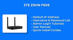 Hal ini diperuntukan untuk menjaga keamanan data yang ada. Zte Zxhn F609 Router Admin Login