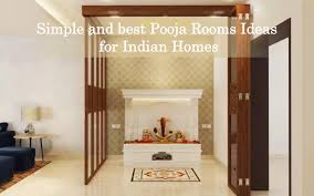 pooja room ideas for indian homes