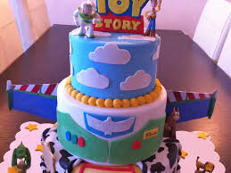 This Is A Toy Story Cake I Made For A Disney Themed Cake Contest