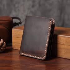 Brown Handmade <b>Men Short Leather Wallet</b>, Rs 455 /piece, B.A.H. ...