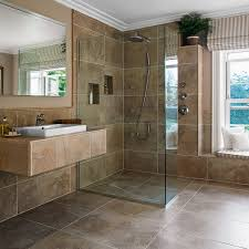 Wet Room Brown Tiles Wet Rooms