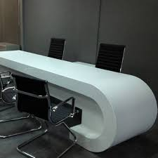 office counter desk. Modern White Office Desk Solid Surface Counter Top L