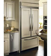 american refrigerator white built in
